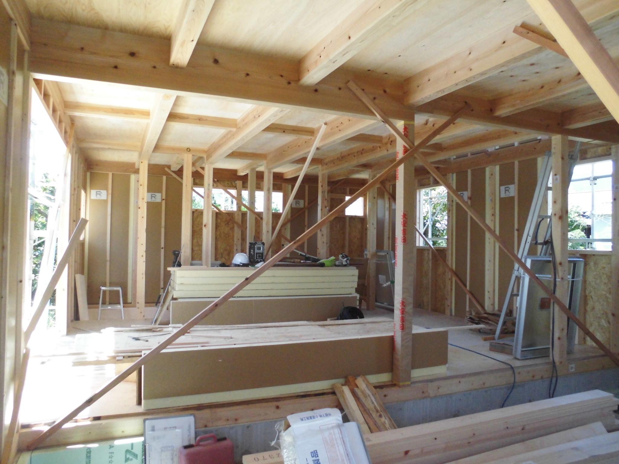 静岡市で建てる木の家 DIYを楽しむ家