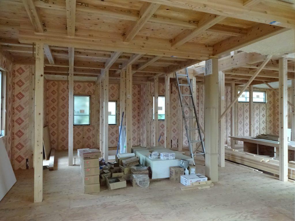 木造組み立て