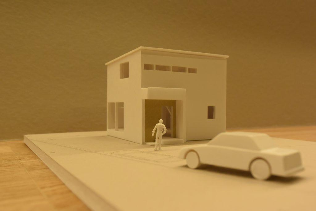 木の家 模型 外観