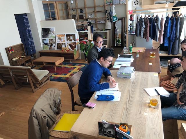 富士市で建築家と家づくり、丁寧なヒアリング、注文住宅の注文風景