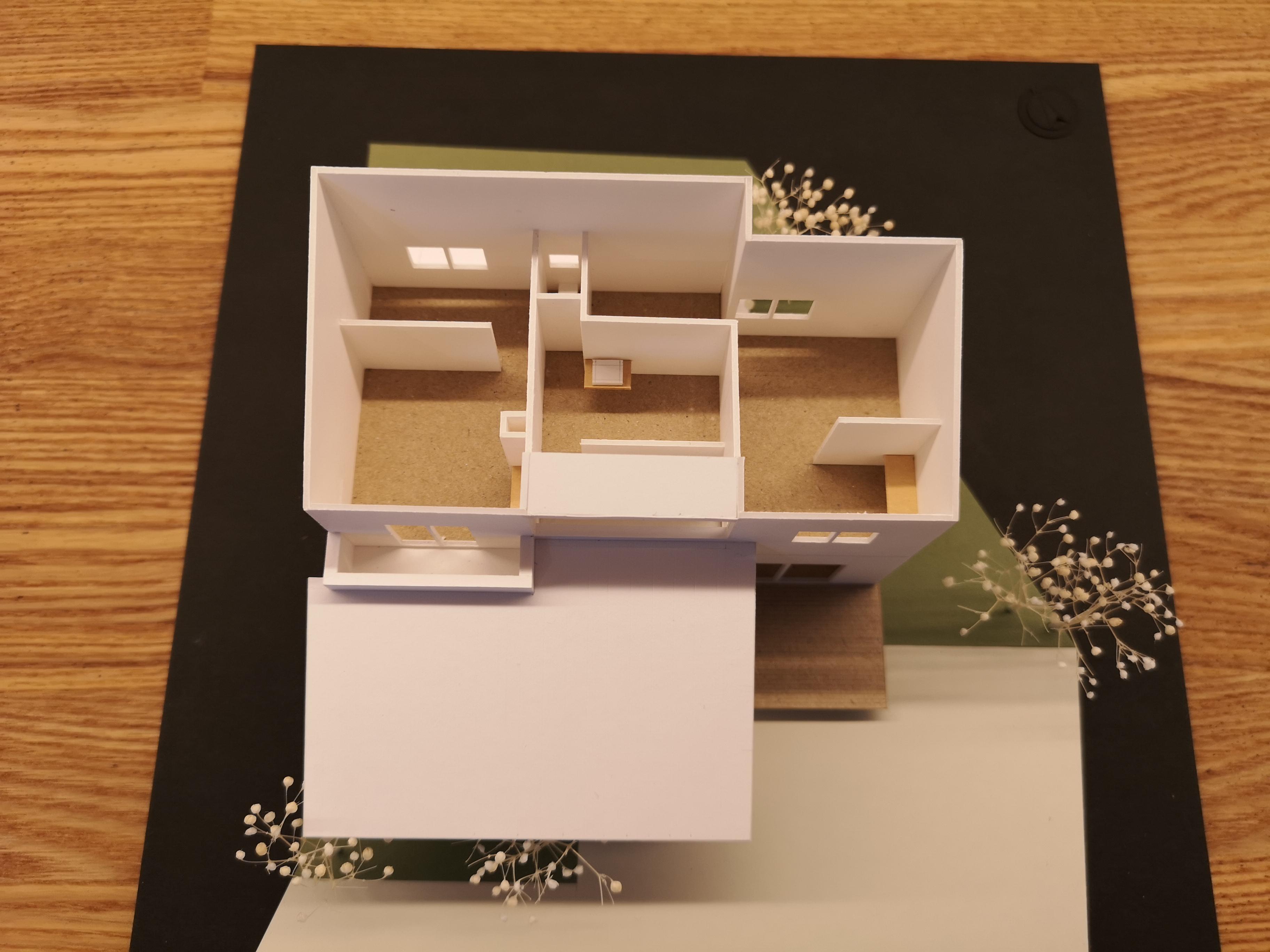 2階内観模型