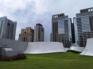 台湾建築,空中庭園