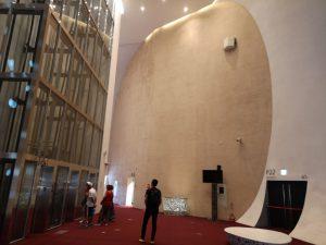 伊東豊雄,台中オペラハウス,壁の表情