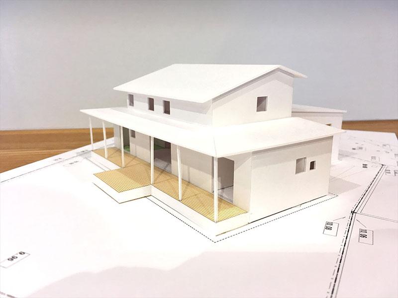 富士市の建築家とつくる家模型