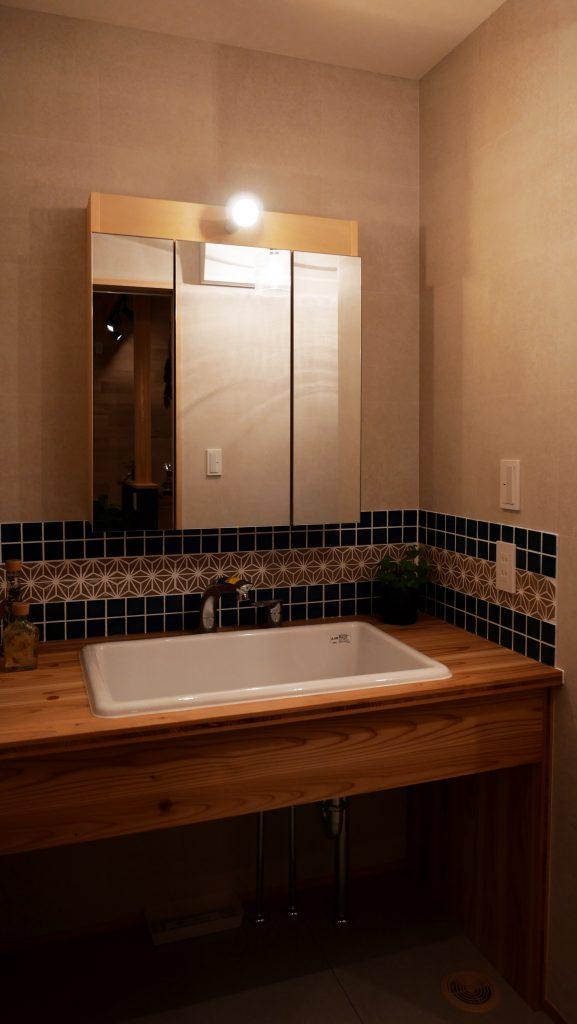 R+house静岡清水・富士でつくる洗面台