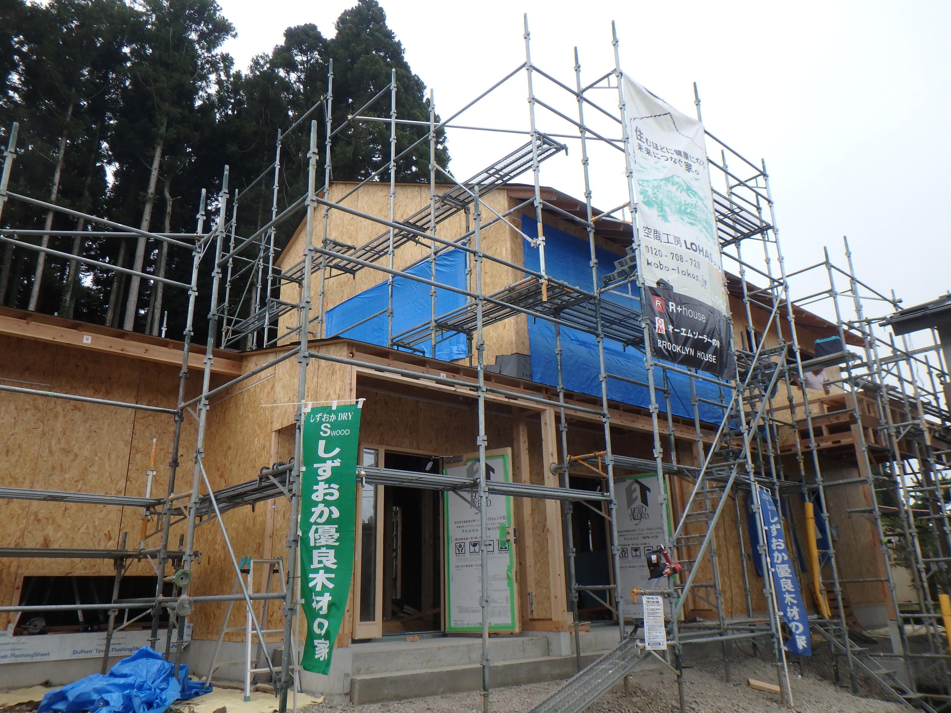 御殿場で家を建てる。木の家。OMソーラーの家