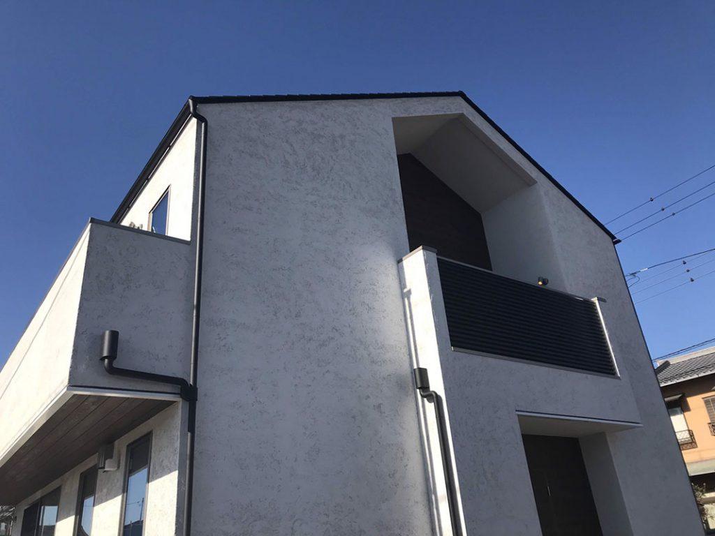 R+house富士 デザイナーズハウス 完成 外観