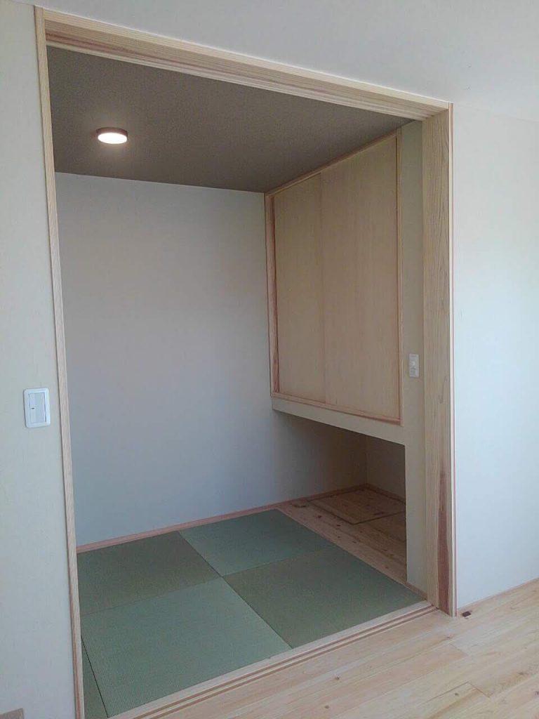 R+house富士 デザイナーズハウス 完成 和室