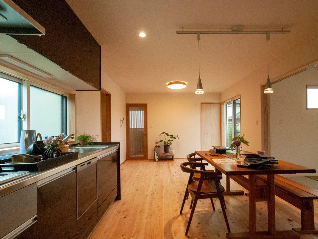 二世帯キッチン