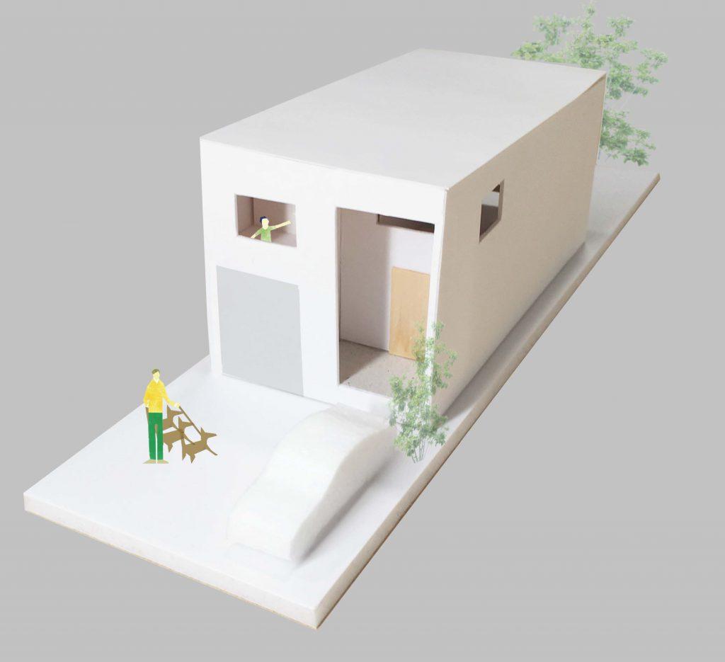 R+house建築家/模型